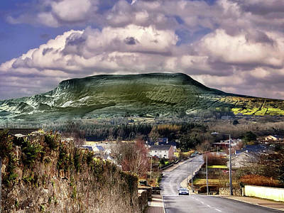 Digital Art - Arroo In The Dartry Mountains From Kinlough, Leitrim, Ireland by John Carver