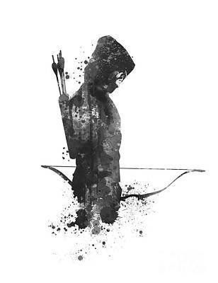 Starlings Mixed Media - Arrow by Monn Print