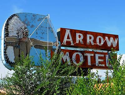 Photograph - Arrow Motel by Gia Marie Houck
