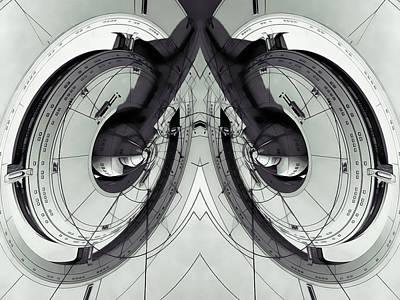 Klingon Wall Art - Digital Art - Arrow Space Technology by Nenad Cerovic