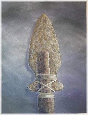 Southwestern Painting - Arrowhead Number 1 by Kenneth McGarity
