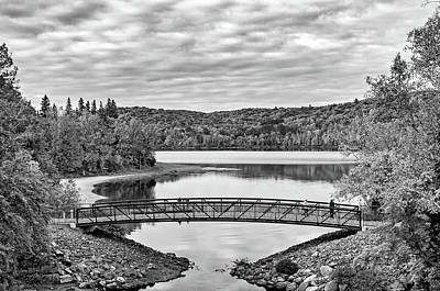 Photograph - Arrowhead Provincial Park 2 Bw by Steve Harrington