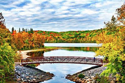 Photograph - Arrowhead Provincial Park 2 - Paint by Steve Harrington