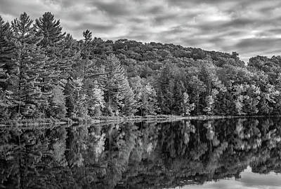 Algonquin Park Northern Ontario Canada Photograph - Arrowhead Provincial Park Bw by Steve Harrington