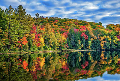 Algonquin Park Northern Ontario Canada Photograph - Arrowhead Provincial Park by Steve Harrington