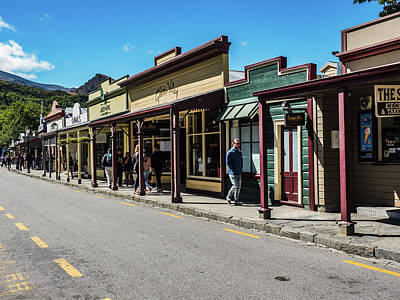 Photograph - Arrowtown, Nz by Walt Sterneman