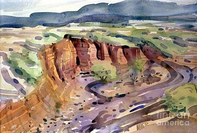Painting - Arroyo by Donald Maier