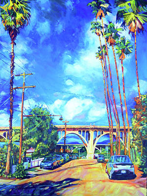 Painting - Arroyo Palms by Bonnie Lambert