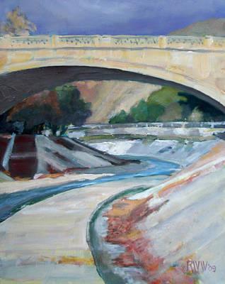 Arroyo Seco Art Print by Richard  Willson
