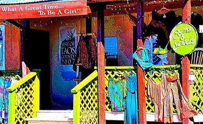 Photograph - Arroyo Seco Store by Jacqui Binford-Bell