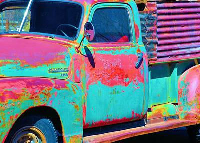 Photograph - Arroyo Seco Truck 1 by Jacqui Binford-Bell