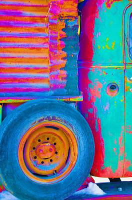 Photograph - Arroyo Seco Truck 2 by Jacqui Binford-Bell
