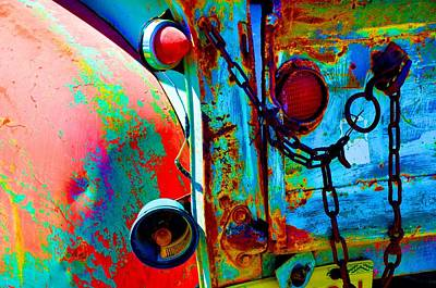 Photograph - Arroyo Seco Truck Tailgate by Jacqui Binford-Bell
