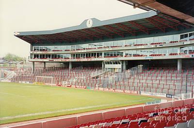 Dennis Bergkamp Photograph - Arsenal - Highbury - Clock End 2 - 1992 by Legendary Football Grounds