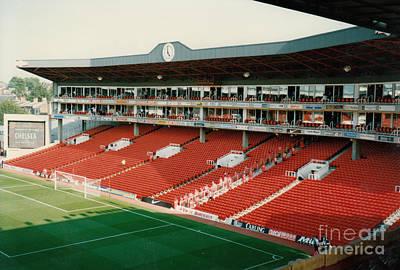 Dennis Bergkamp Photograph - Arsenal - Highbury - Clock End 3 - 1996 by Legendary Football Grounds