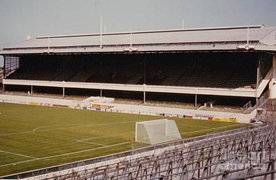 Dennis Bergkamp Photograph - Arsenal - Highbury - East Stand 1 - 1970s by Legendary Football Grounds