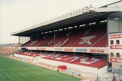 Dennis Bergkamp Photograph - Arsenal - Highbury - East Stand 2 - 1991 by Legendary Football Grounds