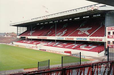 Dennis Bergkamp Photograph - Arsenal - Highbury - East Stand 3 - 1992 by Legendary Football Grounds