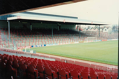 Dennis Bergkamp Photograph - Arsenal - Highbury - North Bank 1 - 1992 by Legendary Football Grounds