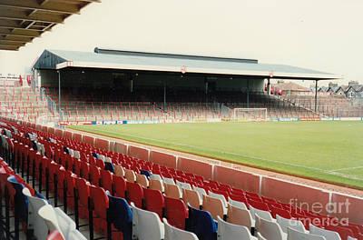 Dennis Bergkamp Photograph - Arsenal - Highbury - North Bank 3 - 1992 by Legendary Football Grounds
