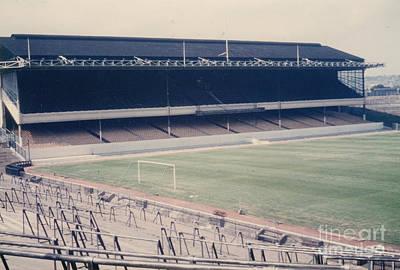 Dennis Bergkamp Photograph - Arsenal - Highbury - West Stand 1 - 1970s by Legendary Football Grounds