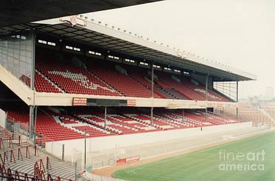 Dennis Bergkamp Photograph - Arsenal - Highbury - West Stand 2 - 1991 by Legendary Football Grounds