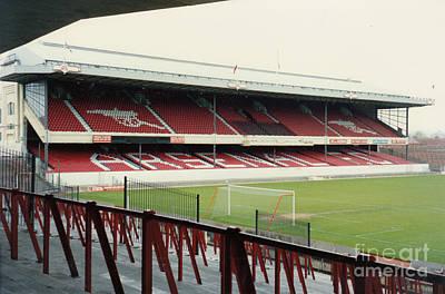 Dennis Bergkamp Photograph - Arsenal - Highbury - West Stand 3 - 1992 by Legendary Football Grounds