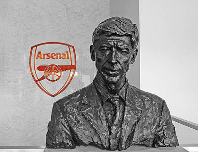 Photograph - Arsene Wenger - Le Professeur by Juergen Weiss