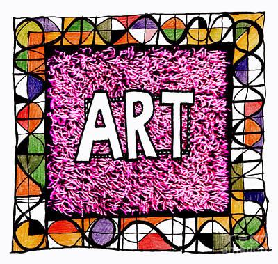Art 1  Print by Andy  Mercer
