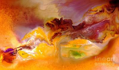 Contemplative Painting - Art 8 by Blanca Medina