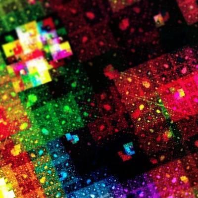 #art #abstract #digitalart #fractals Art Print by Michal Dunaj