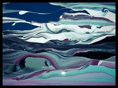 Art Abstract Art Print by Sheila Mcdonald
