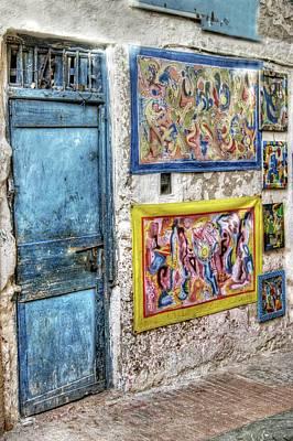 Photograph - Art On The Medina Wall by David Birchall