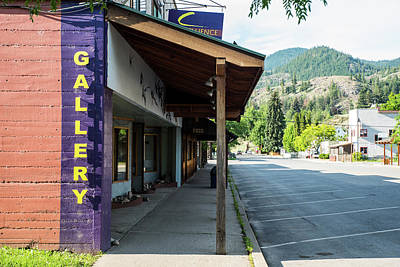 Photograph - Art And Parking In Twisp by Tom Cochran