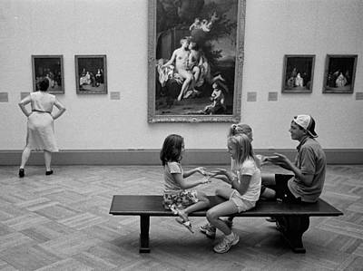 Photograph - Art Appreciation by Dave Beckerman