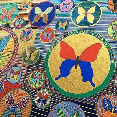 Photograph - #art  #artfair  #berlin  #butterfly by Minami Fukasaka