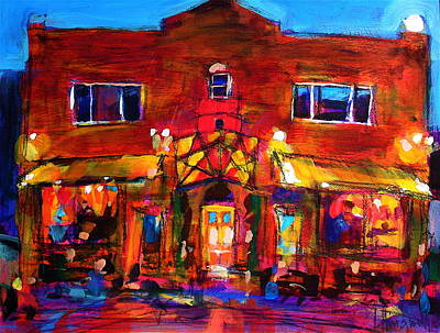 Painting - Art Bar by Les Leffingwell