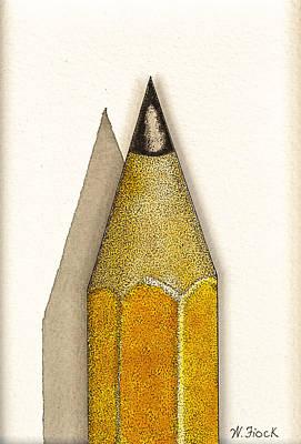 Drawing - Art Begins Here II by Wendell Fiock