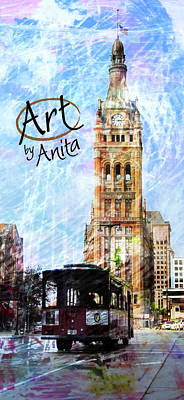 Digital Art - Art By Anita by Anita Burgermeister