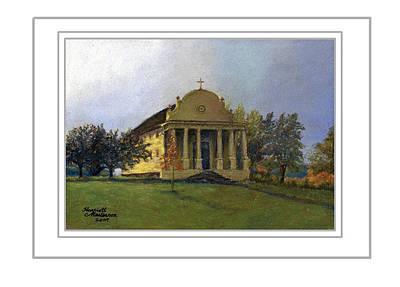 Painting - Art Card - Morning Light At Cataldo by Harriett Masterson
