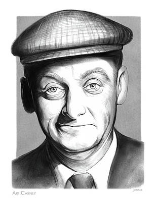 Drawings Rights Managed Images - Art Carney Royalty-Free Image by Greg Joens