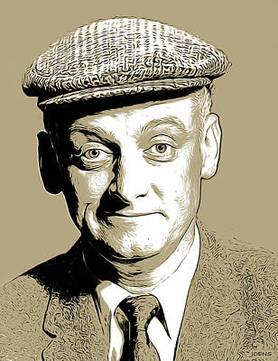 Royalty-Free and Rights-Managed Images - Art Carney3 by Greg Joens
