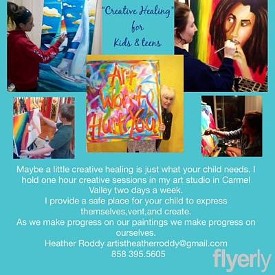 Painting - Art Classes  by Heather Roddy