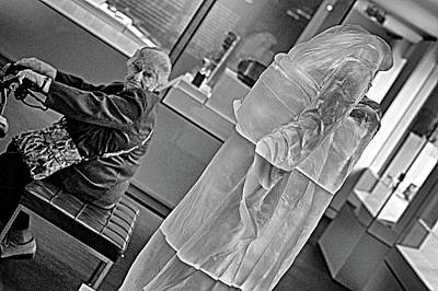 Digital Art - Art Critic by Patrick Groleau