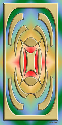 Digital Art - Modern Designs Vertical 2 - Chuck Staley by Chuck Staley