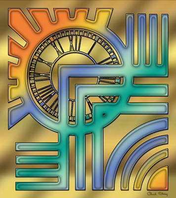 Digital Art - Art Deco 24 by Chuck Staley