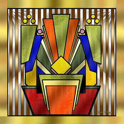 Digital Art - Art Deco 26 - Chuck Staley by Chuck Staley