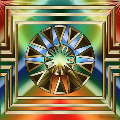 Digital Art - Art Deco 30 - Chuck Staley by Chuck Staley