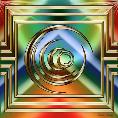 Digital Art - Art Deco 32 - Chuck Staley by Chuck Staley