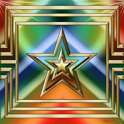 Digital Art - Art Deco 33 - Chuck Staley by Chuck Staley